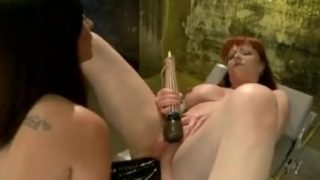 Girls into Double Anal Fisting hardcore