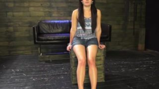 Lesbian domina bondage Helpless teenager