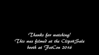 Spanked by Ashley Fires at FetCon 2016