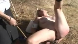 Young model spanking
